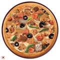 Black Olives, Onion, Crisp Capsicum, Mushroom, Hot n Spicy Chicken, Chunky Chicken